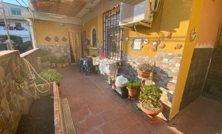 Pressi Provinciale in vendita 3 vani più servizi più veranda #VO16013